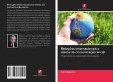 Capa do livro de Relações internacionais e meios de comunicação social