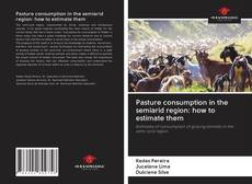 Buchcover von Pasture consumption in the semiarid region: how to estimate them