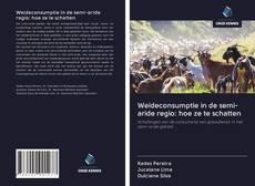 Borítókép a  Weideconsumptie in de semi-aride regio: hoe ze te schatten - hoz