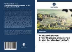 Bookcover of Wirksamkeit von Freiwilligenorganisationen in der Berglandwirtschaft