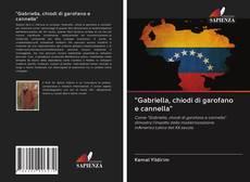 """Capa do livro de """"Gabriella, chiodi di garofano e cannella"""""""