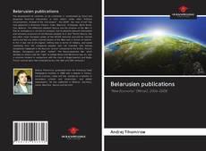 Belarusian publications kitap kapağı