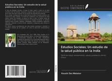 Borítókép a  Estudios Sociales: Un estudio de la salud pública en la India - hoz