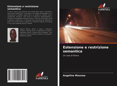 Estensione e restrizione semantica的封面