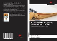 Portada del libro de NATIONAL LANGUAGE ISSUES IN THE MALIAN CONTEXT