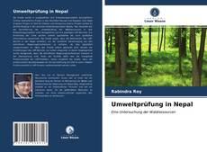 Capa do livro de Umweltprüfung in Nepal