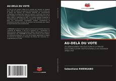 Buchcover von AU-DELÀ DU VOTE