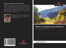 Work on applied social theories kitap kapağı