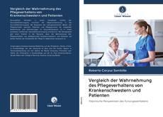 Bookcover of Vergleich der Wahrnehmung des Pflegeverhaltens von Krankenschwestern und Patienten