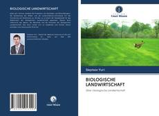 Couverture de BIOLOGISCHE LANDWIRTSCHAFT