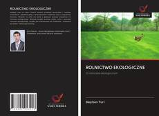 Bookcover of ROLNICTWO EKOLOGICZNE