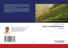 Bookcover of JAVA 14 PROGRAMMING