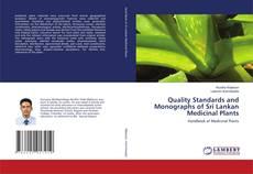 Portada del libro de Quality Standards and Monographs of Sri Lankan Medicinal Plants