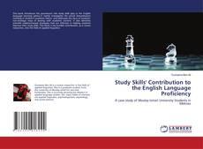 Copertina di Study Skills' Contribution to the English Language Proficiency