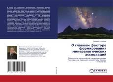 Buchcover von О главном факторе формирования минералогических ассоциаций