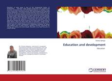 Portada del libro de Education and development
