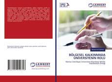 BÖLGESEL KALKINMADA ÜNİVERSİTENİN ROLÜ kitap kapağı