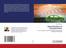 Bookcover of Electrification of Transportation
