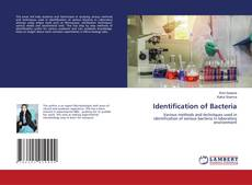 Couverture de Identification of Bacteria