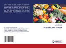 Bookcover of Nutrition and Cancer