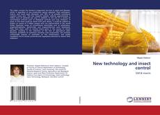 Bookcover of New technology and insect control