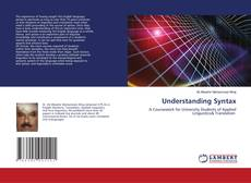Bookcover of Understanding Syntax
