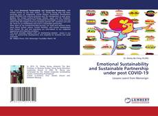 Portada del libro de Emotional Sustainability and Sustainable Partnership under post COVID-19