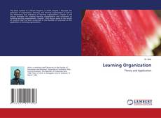 Bookcover of Learning Organization
