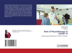 Bookcover of Role of Physiotherapy in COVID 19