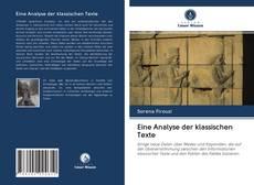 Eine Analyse der klassischen Texte的封面