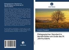 Bookcover of Pädagogischer Standard in Nordkroatien am Ende des 19. Jahrhunderts