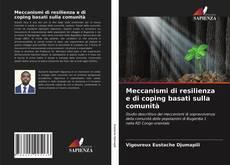 Capa do livro de Meccanismi di resilienza e di coping basati sulla comunità