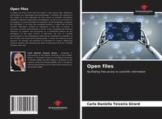 Open files kitap kapağı
