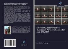 Bookcover of Emotie Duurzaamheid en Duurzaam Partnerschap onder post COVID19