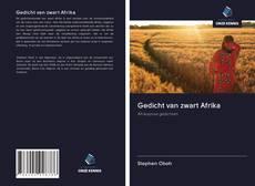 Обложка Gedicht van zwart Afrika