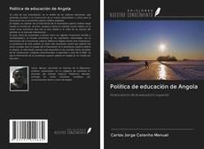 Обложка Política de educación de Angola