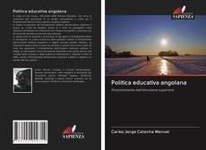 Capa do livro de Politica educativa angolana