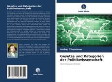 Capa do livro de Gesetze und Kategorien der Politikwissenschaft