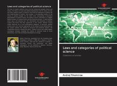 Couverture de Laws and categories of political science