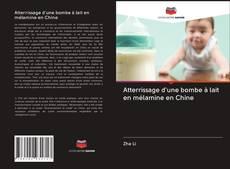 Copertina di Atterrissage d'une bombe à lait en mélamine en Chine