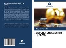Bookcover of BILDUNGSUNGLEICHHEIT IN NEPAL