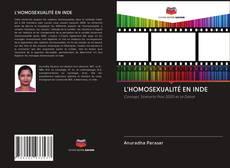 Capa do livro de L'HOMOSEXUALITÉ EN INDE