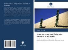 Capa do livro de Untersuchung der jüdischen Identität in Kroatien