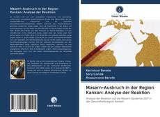 Bookcover of Masern-Ausbruch in der Region Kankan: Analyse der Reaktion