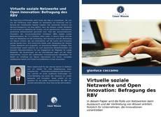 Buchcover von Virtuelle soziale Netzwerke und Open Innovation: Befragung des RBV