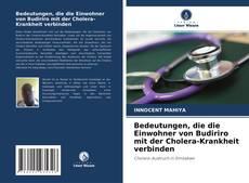 Bookcover of Bedeutungen, die die Einwohner von Budiriro mit der Cholera-Krankheit verbinden