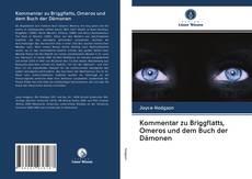 Capa do livro de Kommentar zu Briggflatts, Omeros und dem Buch der Dämonen