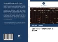 Borítókép a  Gerichtsdolmetschen in Malta - hoz