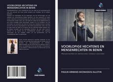 Bookcover of VOORLOPIGE HECHTENIS EN MENSENRECHTEN IN BENIN