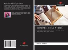 Bookcover of Elements of literary it-fiction